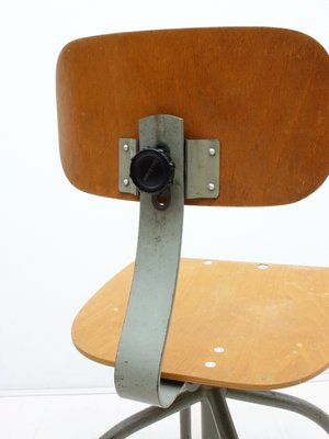 Astounding German Industrial Swivel Office Chair From Anatomic 1950S Bralicious Painted Fabric Chair Ideas Braliciousco