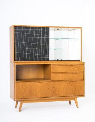 Charmant Vintage Bar Cabinet By Bohumil Landsman For Jitona 1