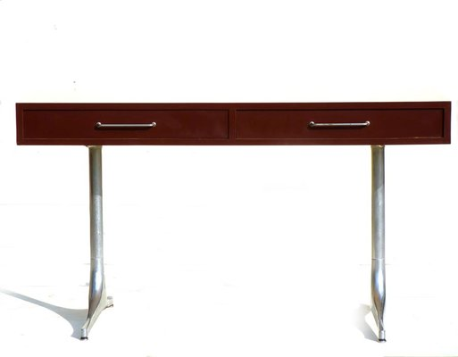 Incroyable Mid Century Desk By George Nelson For Herman Miller