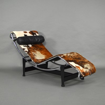 LC4 Chaise Lounge Von Le Corbusier Fur Cassina 1960er 1