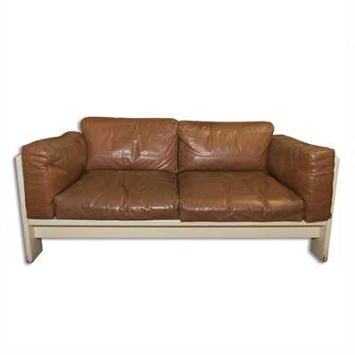 Bastiano Two Seater Leather Sofa By