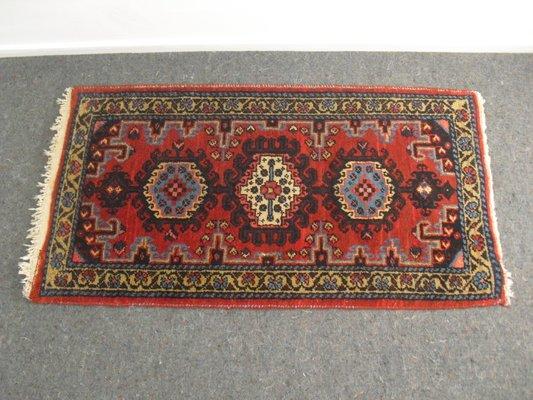 Petit Tapis Vintage En Laine Iran En Vente Sur Pamono