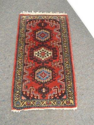 petit tapis vintage en laine iran 2 - Tapis Vintage