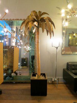 Palm tree floor lamp by maison jansen 1970s for sale at pamono palm tree floor lamp by maison jansen 1970s 1 aloadofball Choice Image