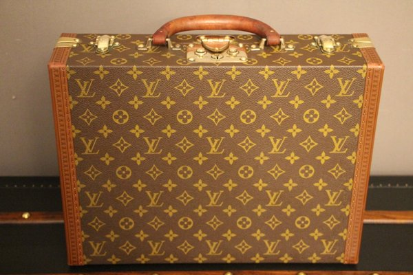 c0b641c6d5308 Vintage Small Monogram Suitcase or Briefcase from Louis Vuitton for ...