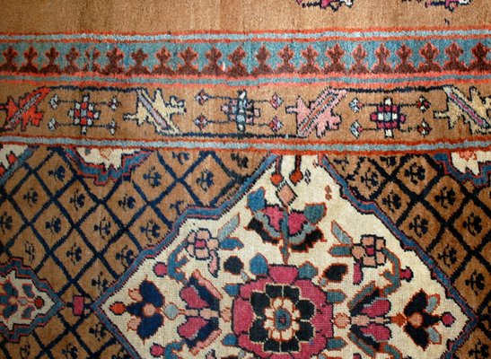 Middle Eastern Camel Hair Rug 1880s