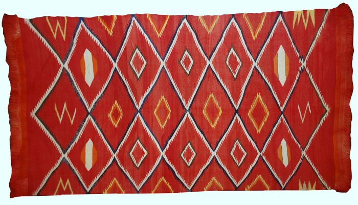 Antique Handmade Native American Navajo Rug 1870s For Sale At Pamono