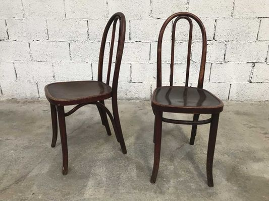 vintage bistro chairs from thonet set of 6 for sale at pamono