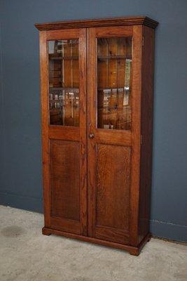French Oak Kitchen Cabinet 1900s 1
