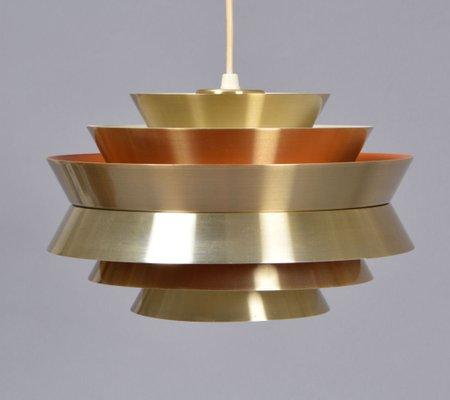Danish Mid Century Pendant Lamp By Carl Thore For Granhaga 1950s