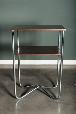 Tall Vintage Bauhaus Style Console Table 1