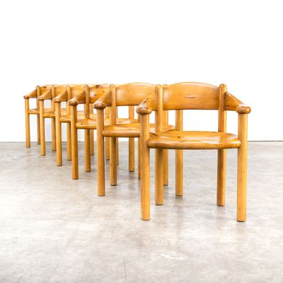 Pine Dining Chairs By Rainer Daumiller For Hirtshals Sawmill, 1960s, Set Of  6 2