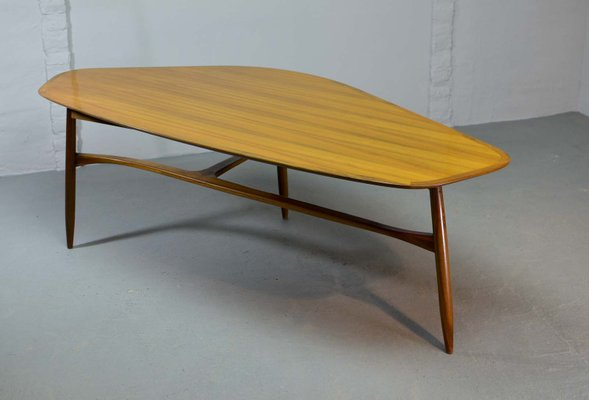 how do u get an american express card  Free Form Shaped Lacquered Kidney Coffee Table by Svante Skogh, 9