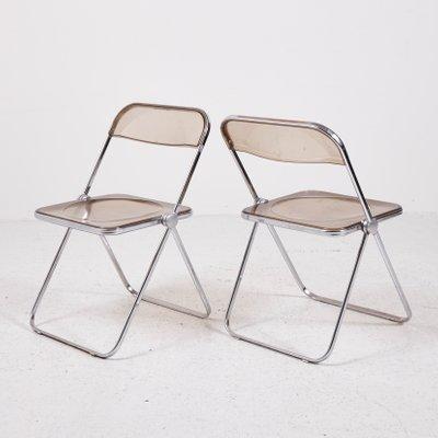 Vintage Plia Folding Chair By Giancarlo Piretti For Castelli 1