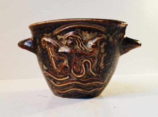 Ceramiche Di Copenaghen Prezzi.Vaso Art Deco Vintage In Ceramica Di Bode Willumsen Per Royal