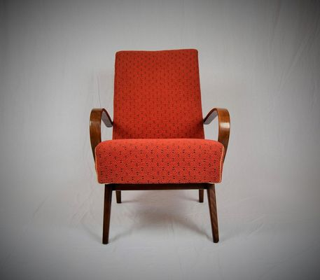 Bentwood Lounge Armchair From Ton 1960s For Sale At Pamono