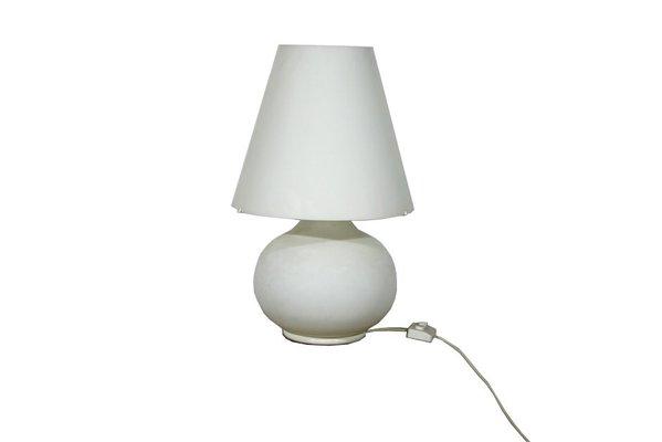Lampade In Vetro Di Murano : Lampada da tavolo paralume grande in vetro di murano di ufficiostile