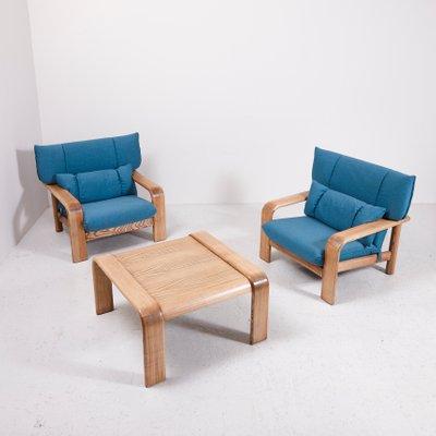 Vintage Sessel Mit Couchtisch Von Rolf Benz Bei Pamono Kaufen
