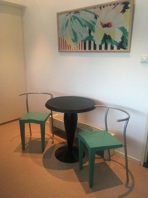 Kartell Tavoli Da Pranzo.Set Da Pranzo Vintage Di Philippe Starck Per Kartell Anni 80 In