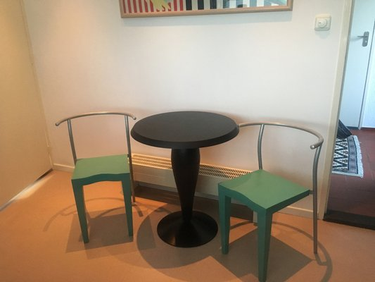 Bon Vintage Dining Set By Philippe Starck For Kartell, 1980s 1