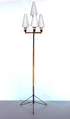pie Stilnovoaños Mid Century Lámpara de italiana 50 de kXZuPi
