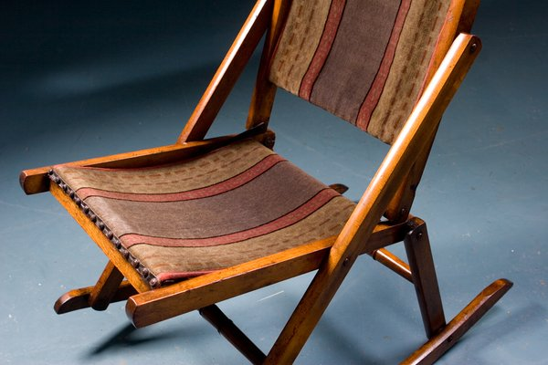 Antique Rocking Chair, 1900s 2 - Antique Rocking Chair, 1900s For Sale At Pamono