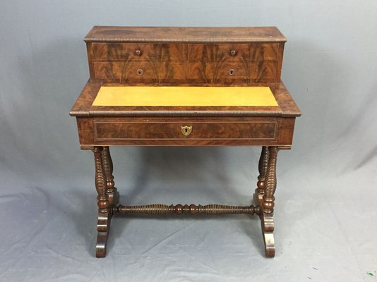 Antique Mahogany Desk 1 - Antique Mahogany Desk For Sale At Pamono
