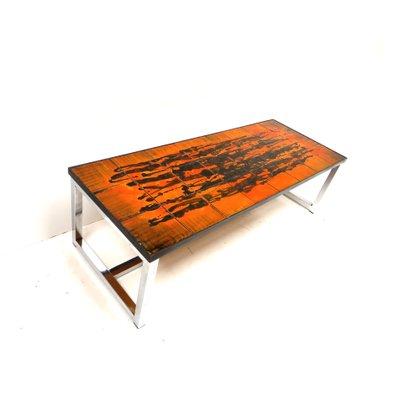 Céramique1960s En Basse Basse Table Vintage En Table Vintage tdxBhosrCQ
