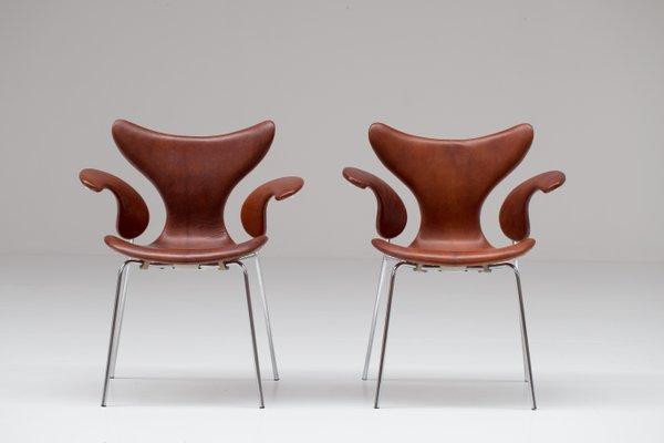 Arne Jacobsen Stoel : Seagull stühle von arne jacobsen 1960er 2er set bei pamono kaufen
