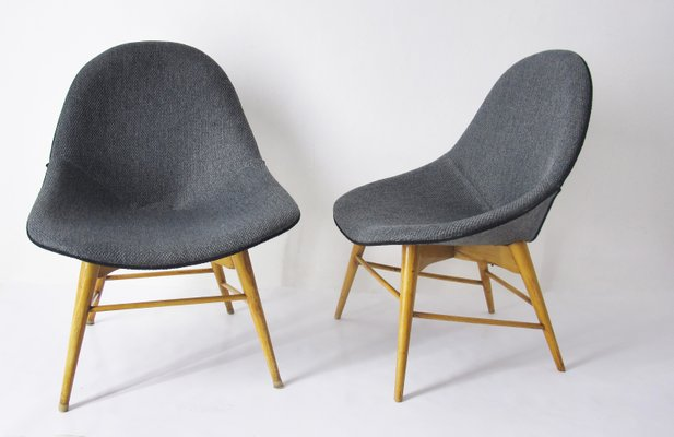 Vintage Scandinavian Lounge Chairs, Set Of 2 2