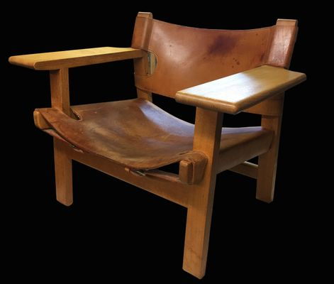 spanish chair by børge mogensen for fredericia for sale at pamono