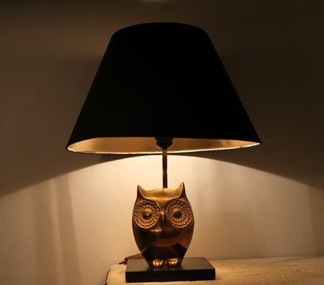 Owl table lamp 1970s for sale at pamono owl table lamp 1970s 1 aloadofball Choice Image
