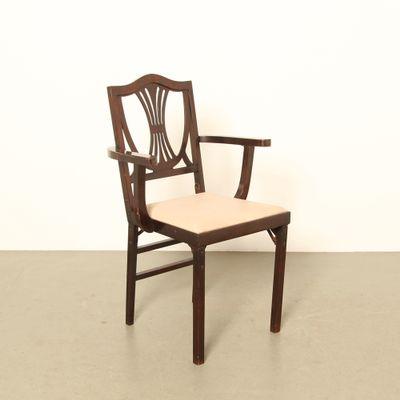 Astounding Mid Century American Folding Chair From Leg O Matic 1950S Inzonedesignstudio Interior Chair Design Inzonedesignstudiocom