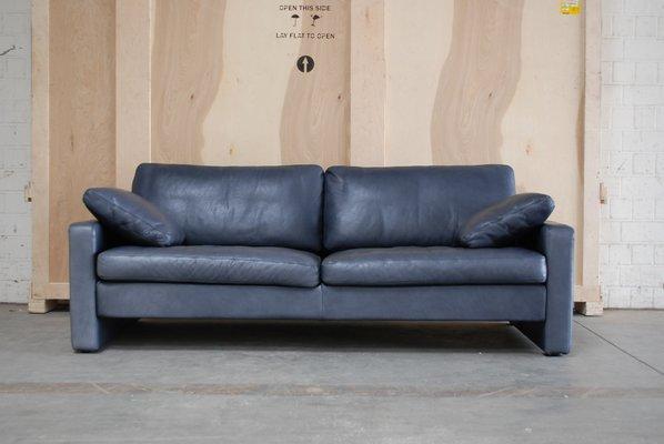 Vintage Conseta Sofa Aus Blauem Leder Von Cor Bei Pamono Kaufen