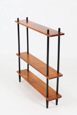 mid century modern bookshelf. Mid-Century Modern Shelving Unit, 1950s 2 Mid Century Bookshelf