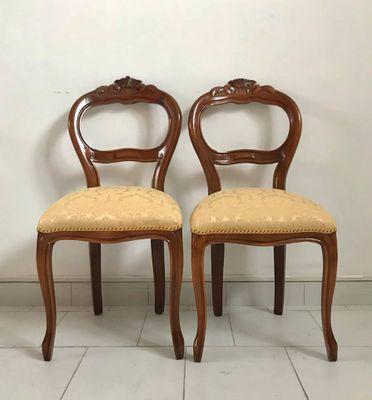 Sedia da pranzo Luigi XV, Italia, anni \'50 in vendita su Pamono