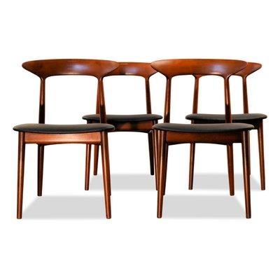 Teak Dining Chairs By Kurt Ostervig For Brande Mobelindustri 1960s