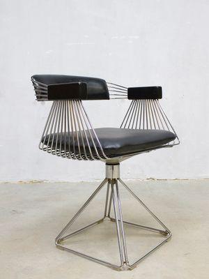 Vintage Delta Dining Chairs By Rudi Verelst For Novalux, Set Of 4 1