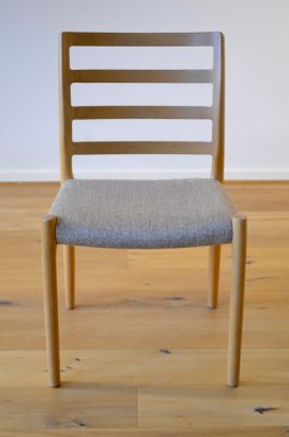 Skandinavische Vintage Esszimmer Stuhle Aus Eiche Von Niels Otto Moller 6er Set Bei Pamono Kaufen