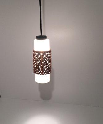 Kupfer Deckenlampe mid-century kupfer deckenlampe, 1960er bei pamono kaufen
