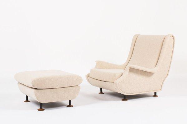 Modell Regent Sessel Hocker Von Marco Zanuso Fur Arflex 1960er