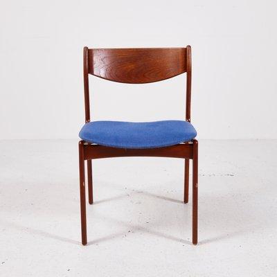 Chaise De Salon En Teck Par PE Jrgensen Pour Fars Stolefabrik 1960s 1