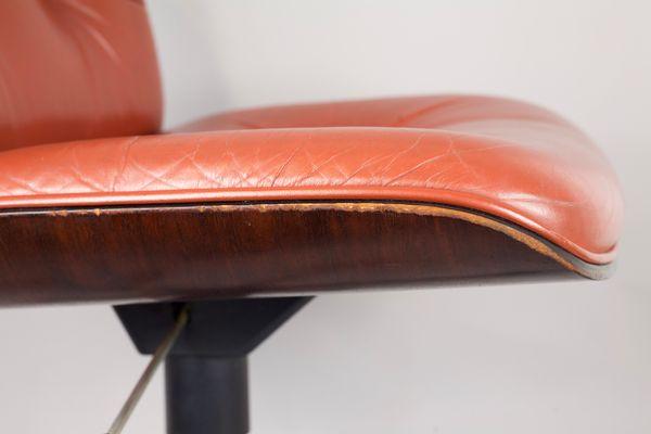 Sedie Ufficio Anni 50 : Sedia girevole da ufficio di ico e luisa parisi per mim roma anni