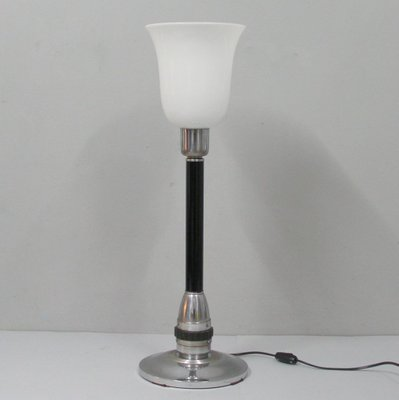 French Art Deco Table Lamp 1940s 1