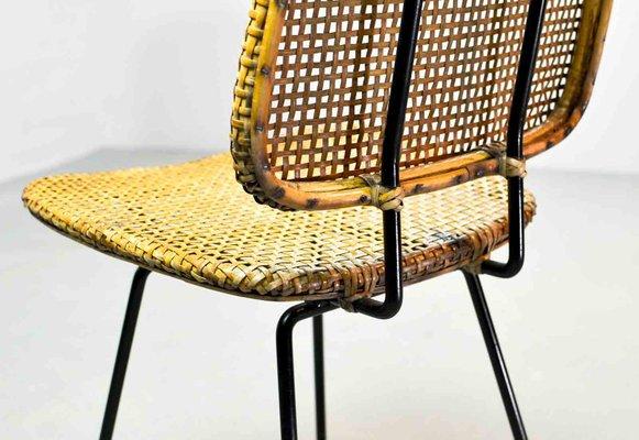 Cane Chairs By Dirk Van Sliedregt For Rohé Noordwolde, 1950s, Set Of 2 6