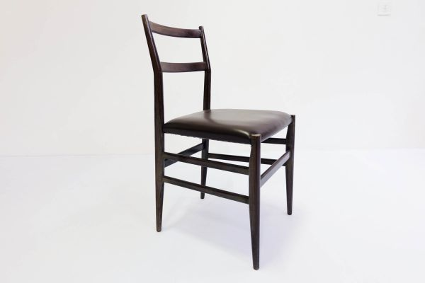 Superbe Leggera Side Chair By Gio Ponti For Cassina, 1951 1