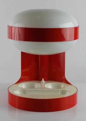 KD 29 Red Table Lamp By Joe Colombo For Kartell, 1967 2