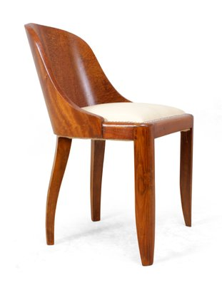 Art Deco Dining Chairs, 1920s, Set Of 6 1