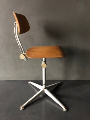 Vintage Office Chair By Friso Kramer For Ahrend De Cirkel 2