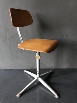 Para Friso Oficina Cirkel Kramer De Vintage Ahrend Silla Industrial kNwX8n0OP